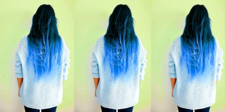 The Split-Dye Hair Trend