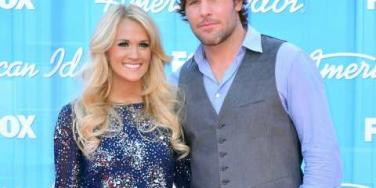 Carrie Underwood and Mike Fisher American Idol