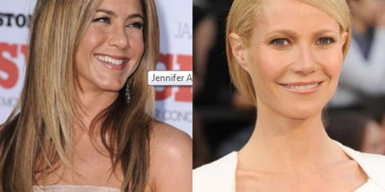 Jennifer Aniston Gwyneth Paltrow