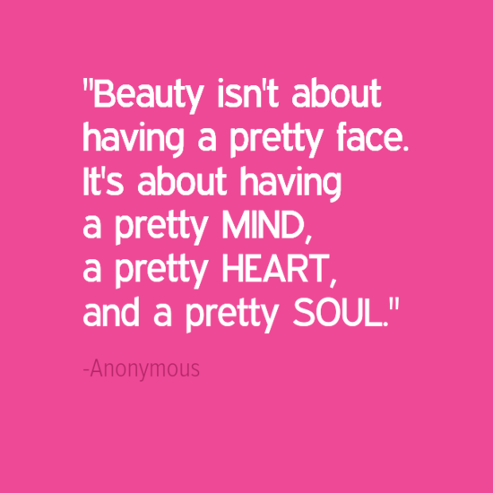 beauty inspirational quotes