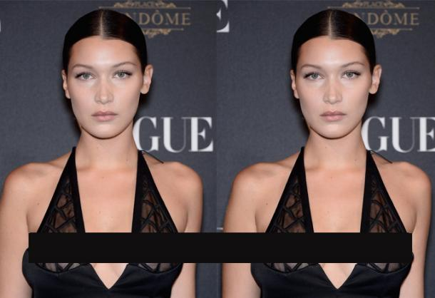 Bella Hadid Free The Nipple
