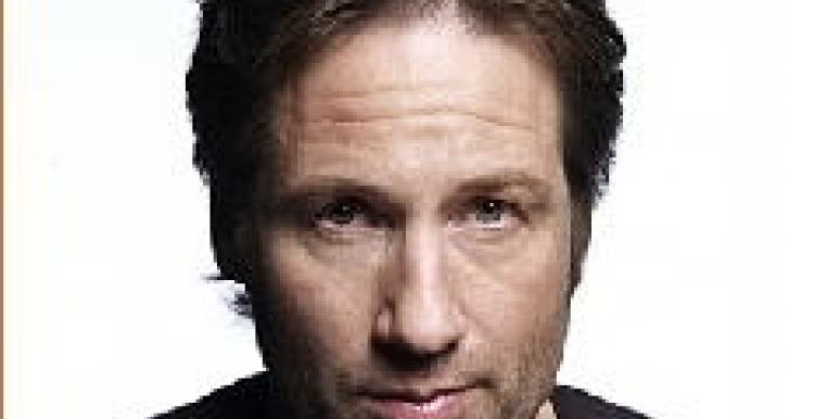 David Duchovny Checks Out Of Sex Rehab