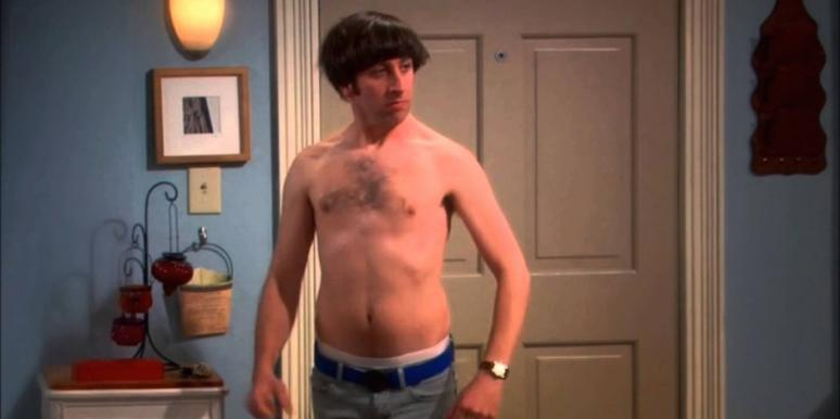 Simon Helberg from The Big Bang Theory