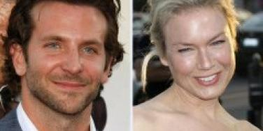 Bradley Cooper and Reneé Zellweger