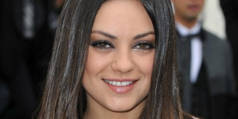 Mila Kunis fashion week