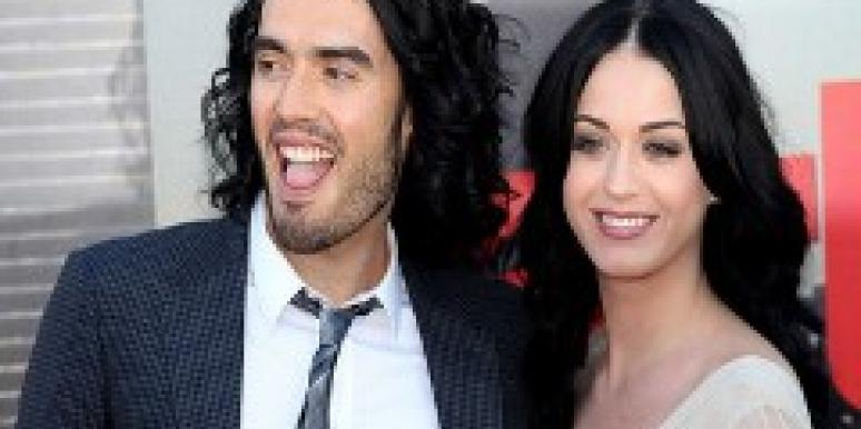 Katy Perry and Russell Brand, marriage