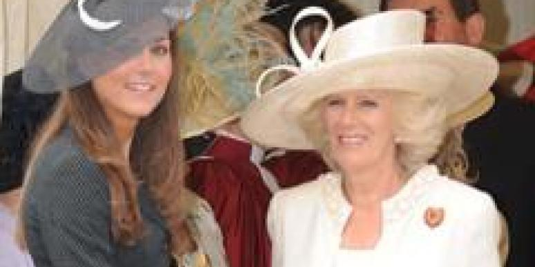 Kate Middleton Camilla Parker-Bowles