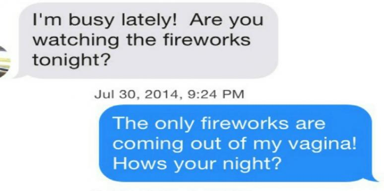 online dating tinder message