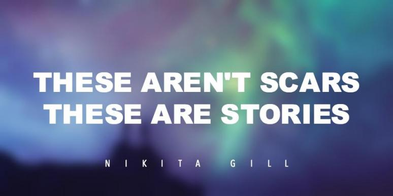 NIKITA GILL POEMS AND QUOTES strong women