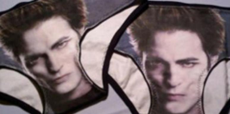 Robert Pattinson is in your panties!