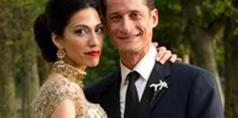huma abedin anthony weiner wife wedding photo AP