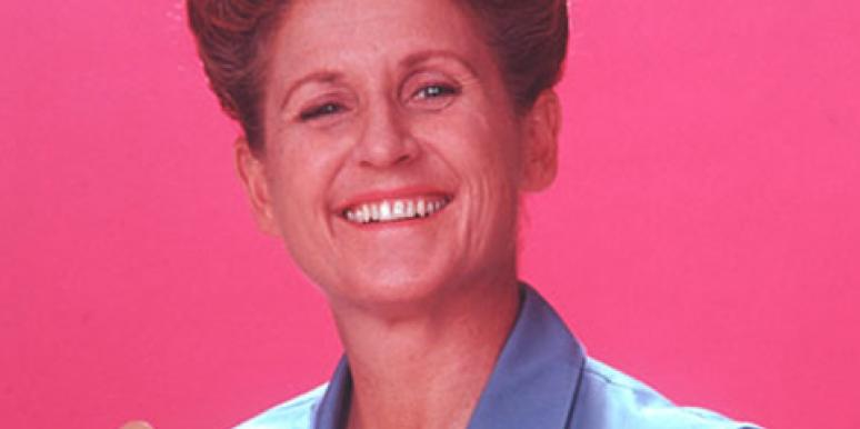 Ann B. Davis as Alice the maid in 'The Brady Bunch'