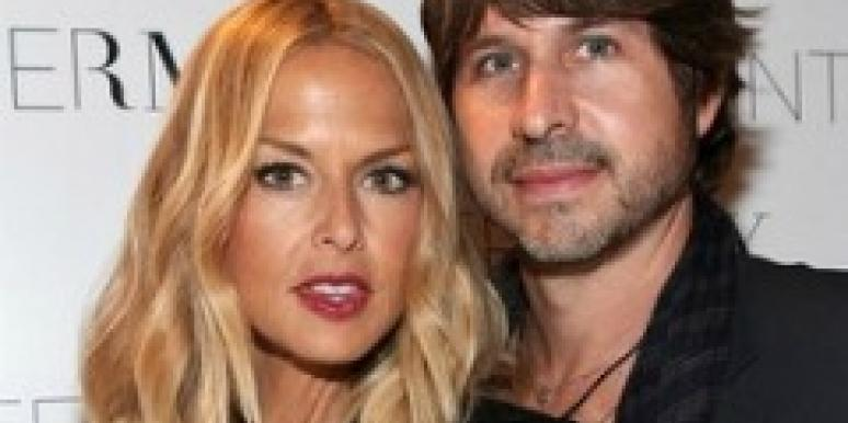 Rachel Zoe and husband