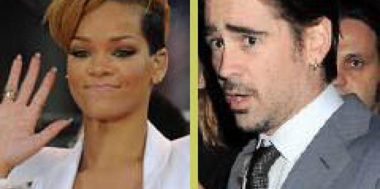 Rihanna and Colin Farrell