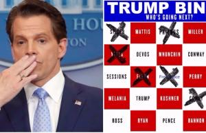 Scaramucci's Out! Here's A List Of All The People Trump Has Fired In Case You're Playing Trump BINGO