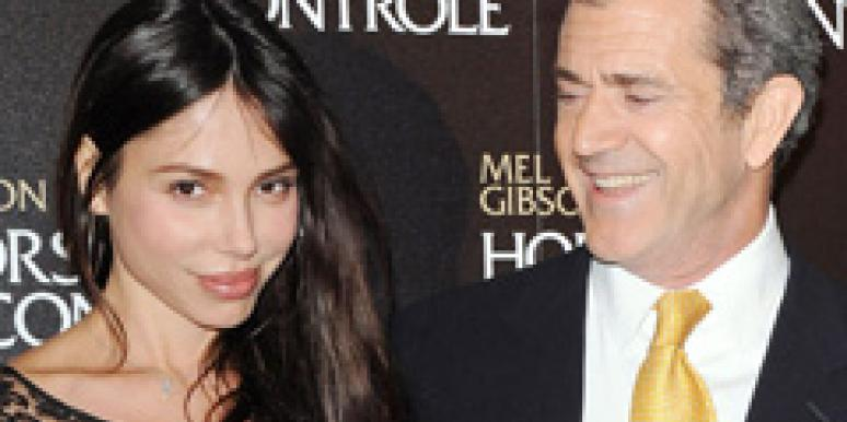 Mel Gibson Girlfriend Mistress Oksana Grigorieva