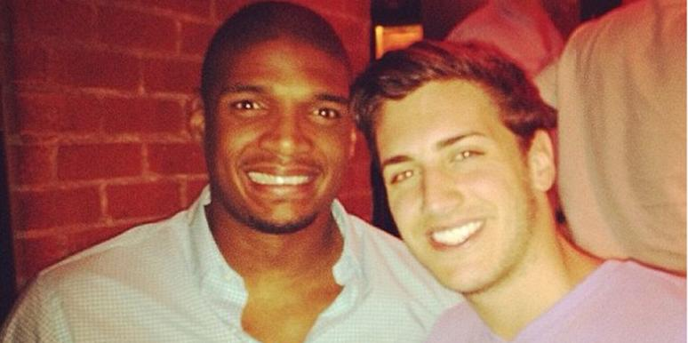 Michael Sam and Vito Cammisano
