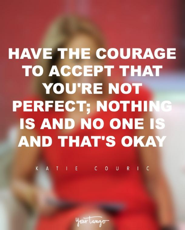 Feminist Katie Couric Empowering Inspirational Quotes