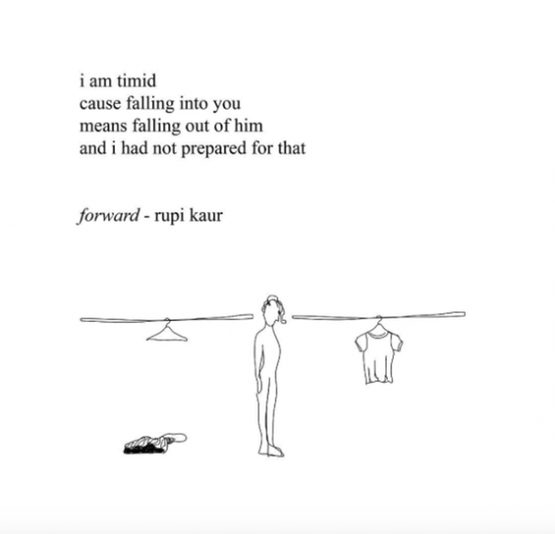 Rupi Kaur Poet Instagram Quotes Breakup Feminist
