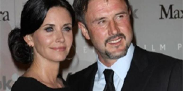 David Arquette and Courteney Cox Arquette