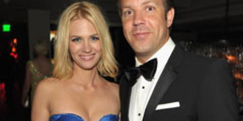 January Jones Jason Sudeikis
