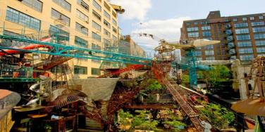 10-Story Factory Transformed Into A Playground FOR ADULTS