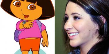 Bristol Palin Dora The Explorer