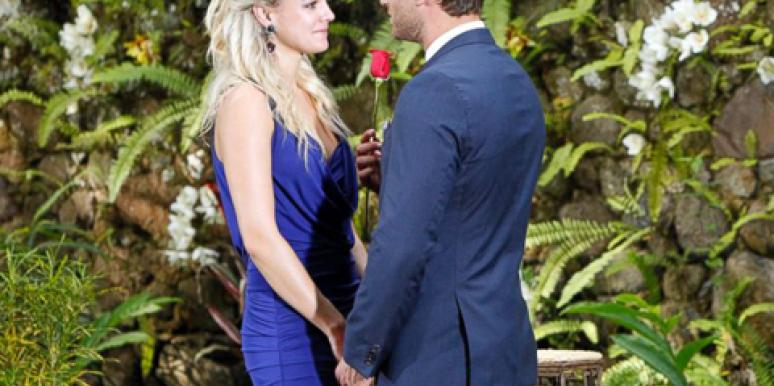 "Nikki Ferrell and Juan Pablo Galavis on the season finale of 'The Bachelor,' where he refused to say ""I love you."""
