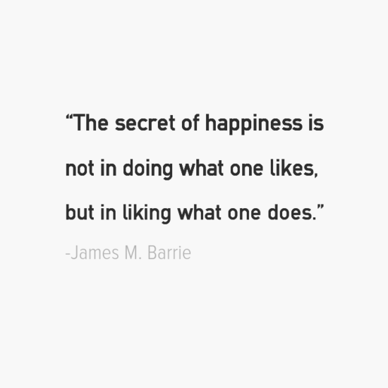James M. Barrie happiness quotes