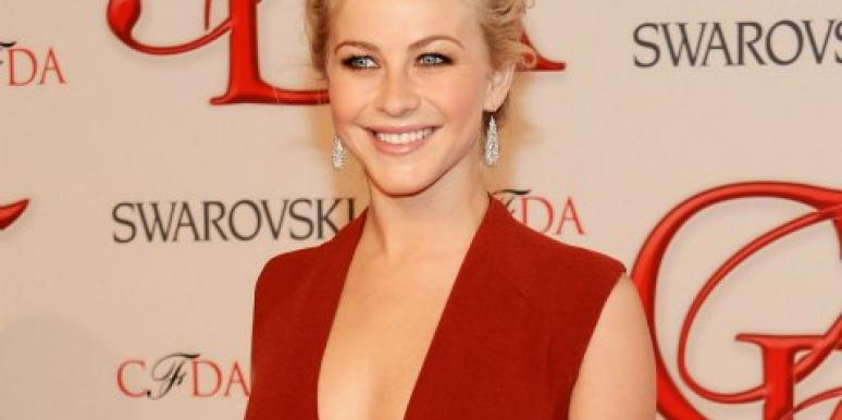 Julianne Hough at CFDA awards