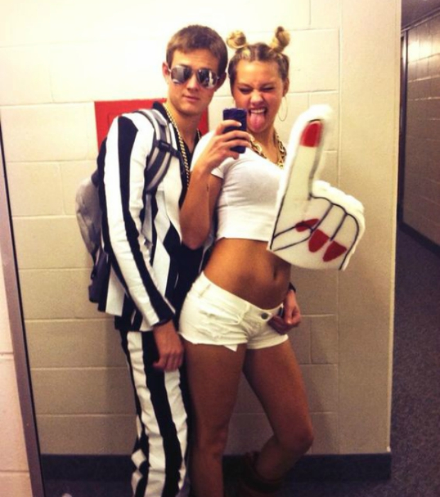 miley and robin thicke