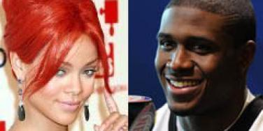 Rihanna And Reggie Bush