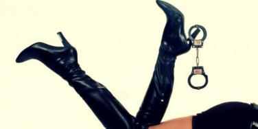 handcuffs and heels