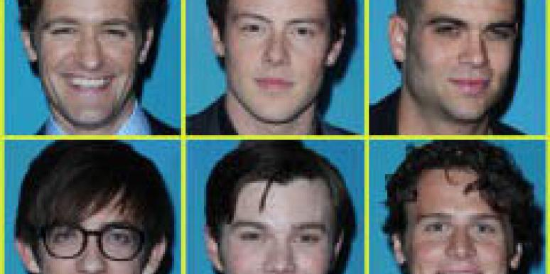 The men of Glee