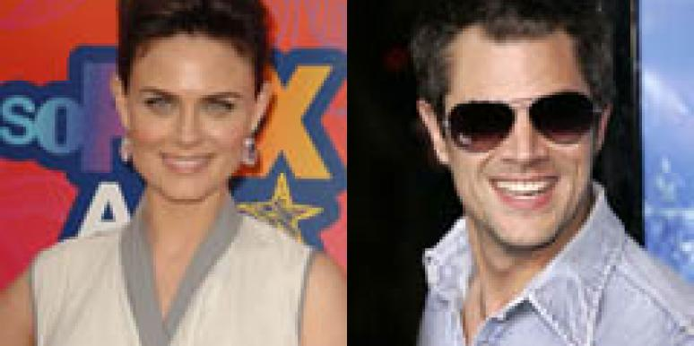 Emily Deschanel Johnny Knoxville