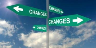 signs of change in every direction
