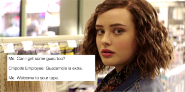 13 reasons why welcome to your tape meme