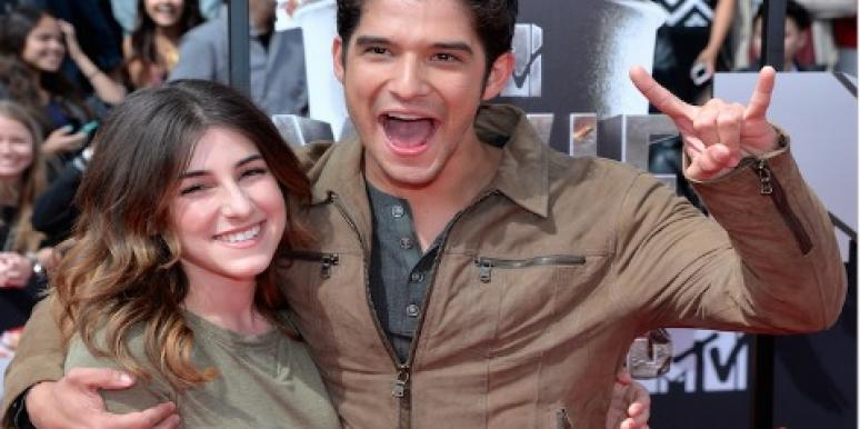 Tyler Posey and Seana Gorlick