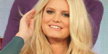 Jessica Simpson up close