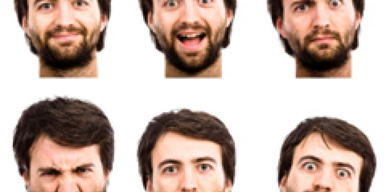 many faces of man