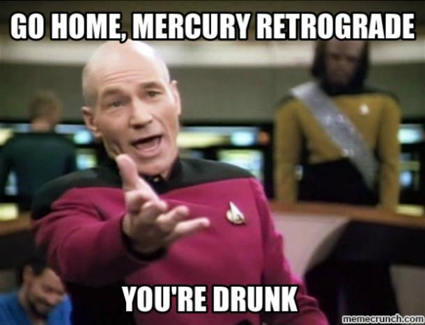 mercury in retrograde memes