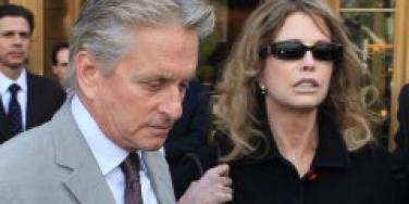 Michael Douglas and Diandra Douglas