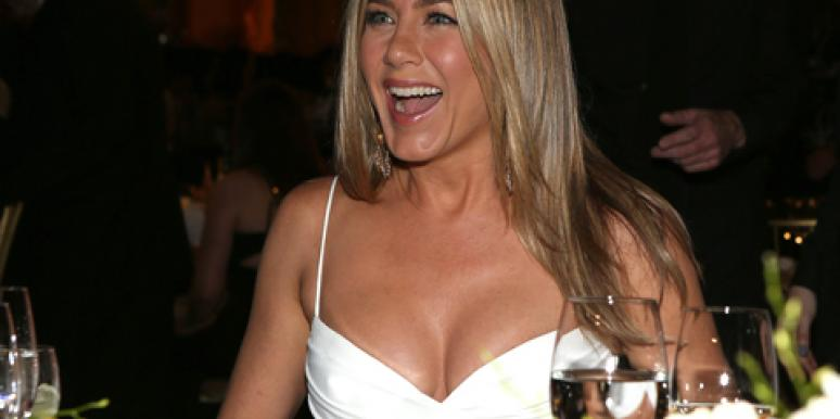 Jennifer Aniston white dress