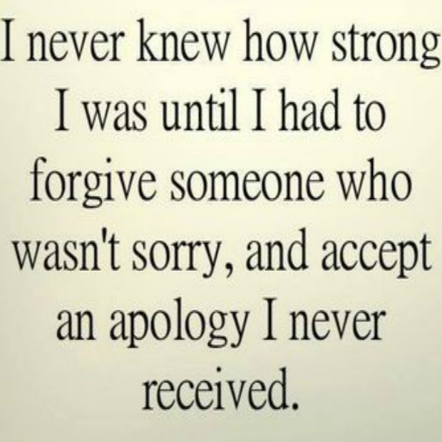 apology never received