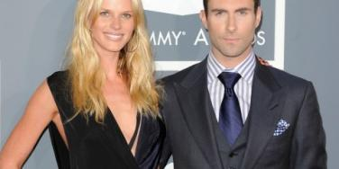 Anne V and Adam Levine