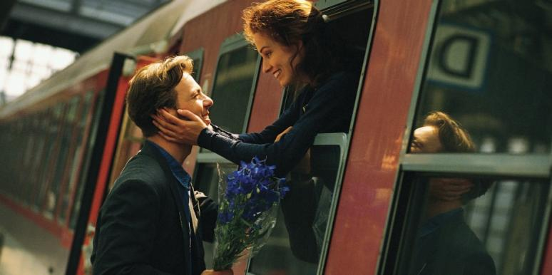 couple-on-train-flowers