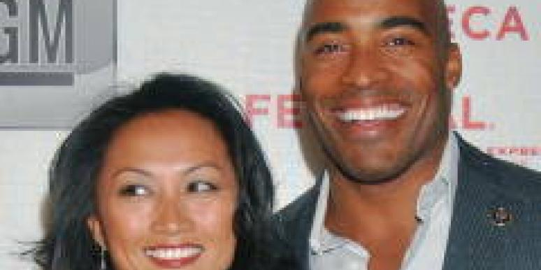 Tiki Barber girlfriend Traci Lynn Johnson