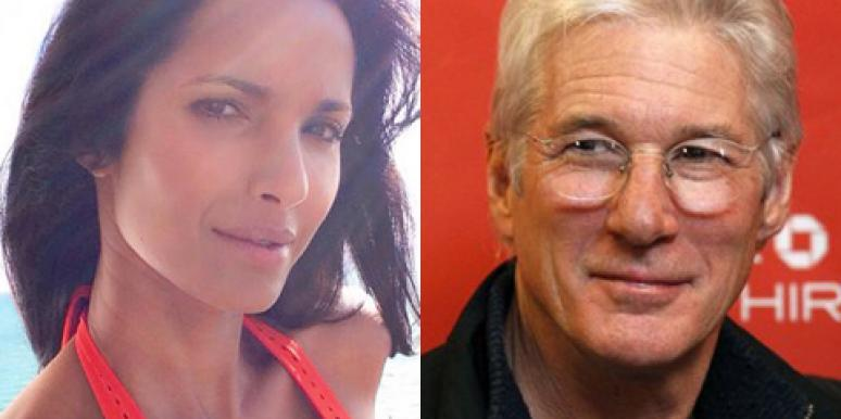 Padma Lakshmi at Art Basel 2014 in Miami & Richard Gere