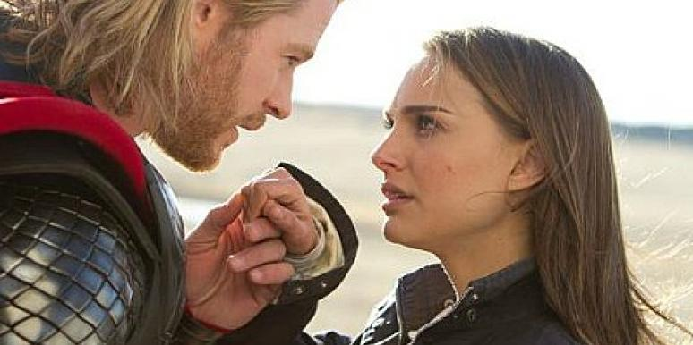 Celebrity Love: Natalie Portman Dishes On Kissing Chris Hemsworth