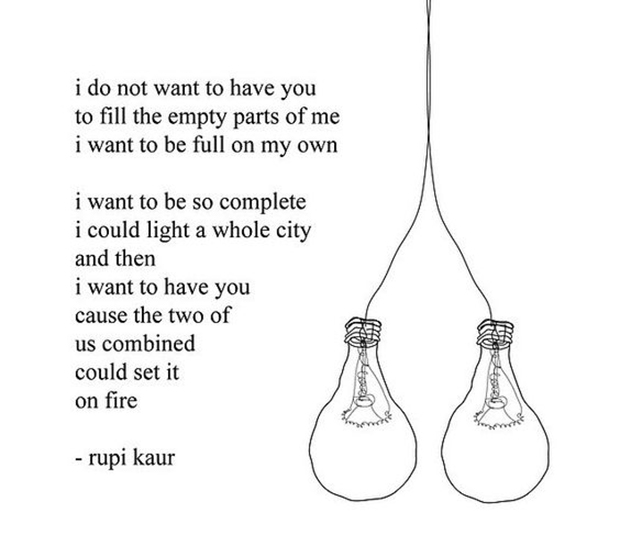 rupi kaur poem strong woman quotes